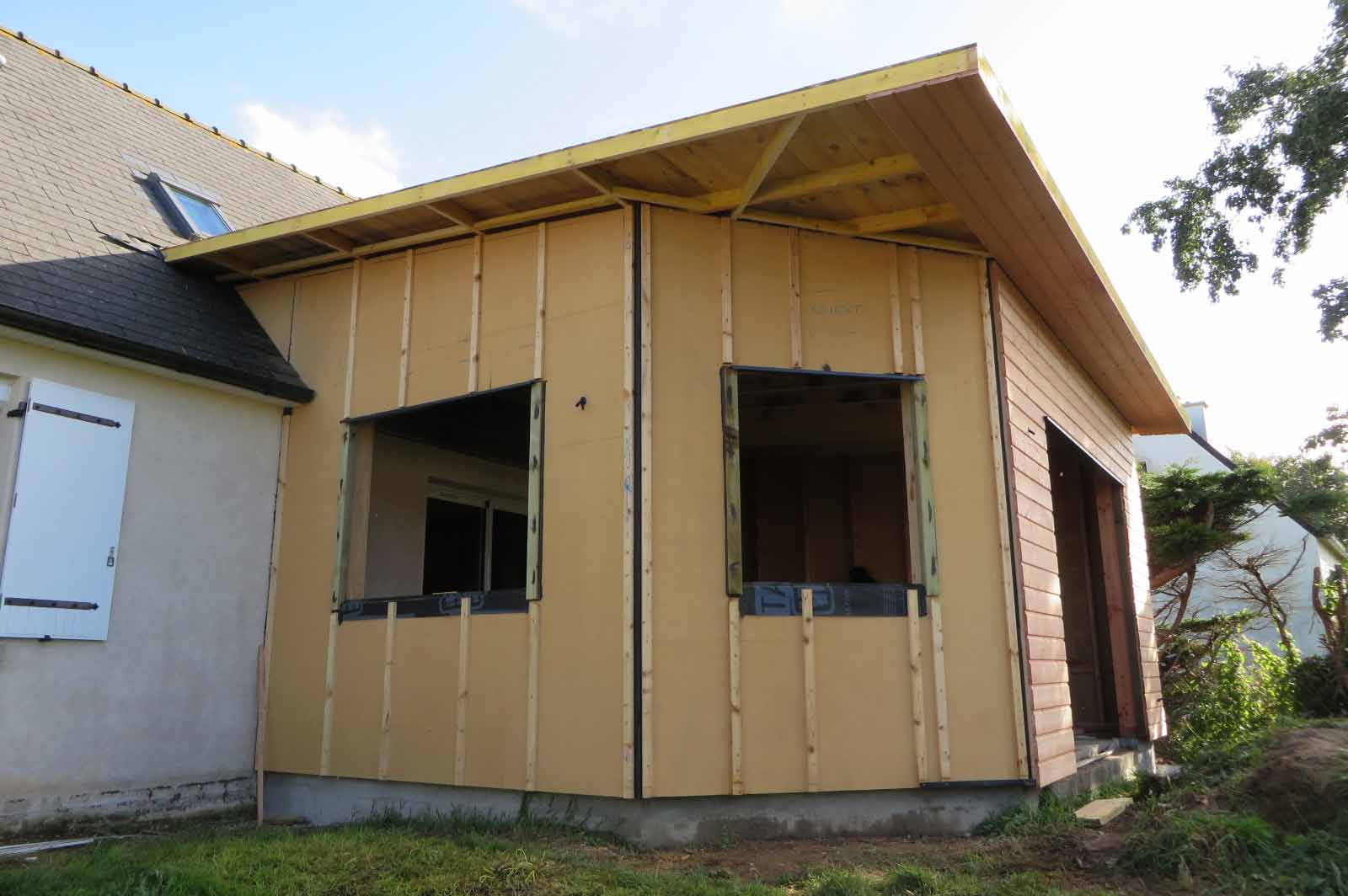 Extension Bois Finistere : Extension bois Finistere Landeda – Maisons bois Acacia