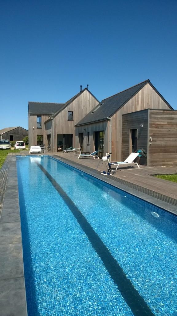 Maison bois Brignogan