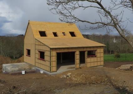 Maison bois Finsitère