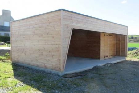 Carport bois Finistère