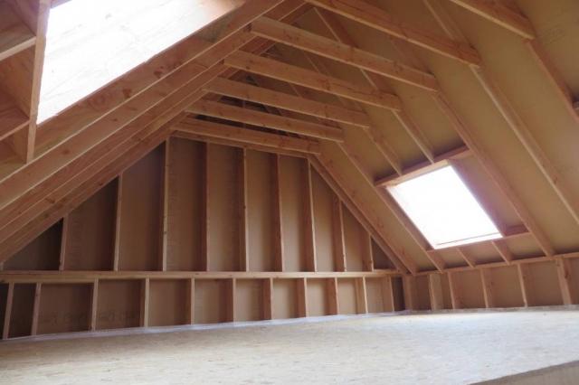 Etage avant isolation