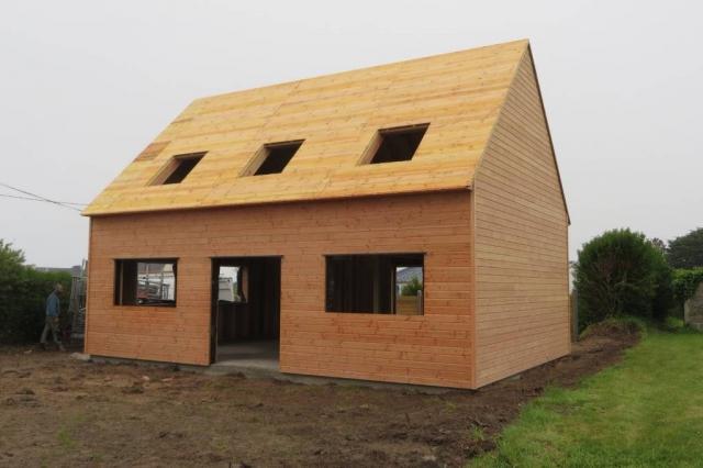 Maison bois Finistère