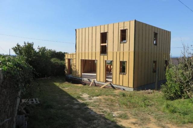 maison compacte ossature bois