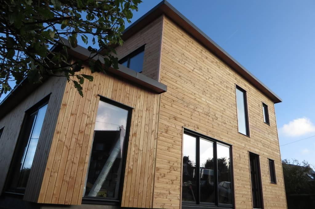 Extension Bois Finistere : Extension bois St Pabu Finist?re – Maisons bois Acacia