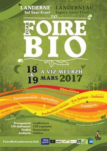 Foire Bio Landerneau 2017