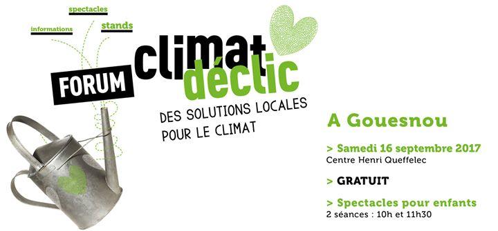 Forum Climat déclic