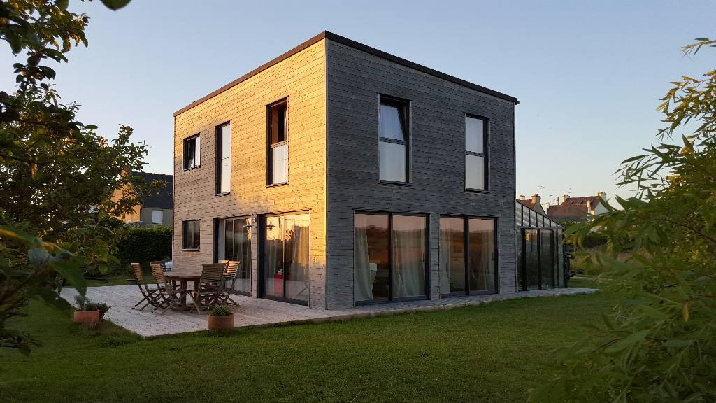 Maison ossature bois - L'Acacia - Lampaul Plouarzel