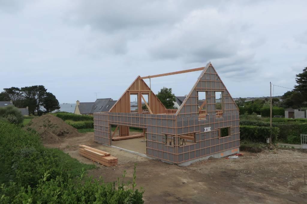 maison bois landeda - L'Acacia