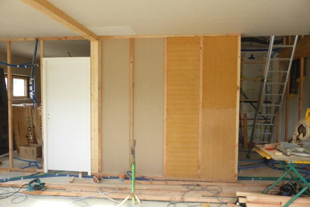 Laine de bois cloisons intérieures