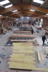 Extension bois - Fabrication à l'atelier - L'Acacia