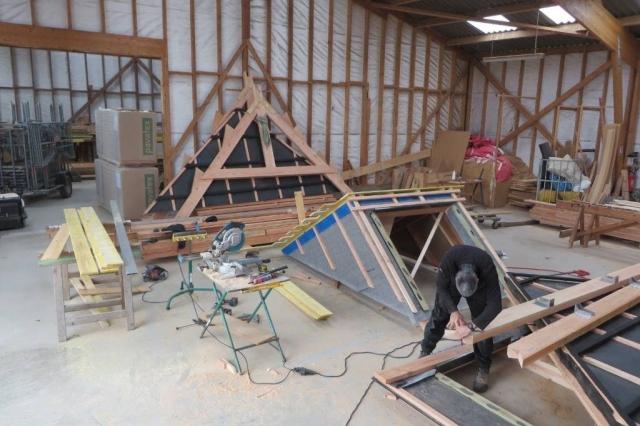 Fabrication à l'atelier scop l'acacia