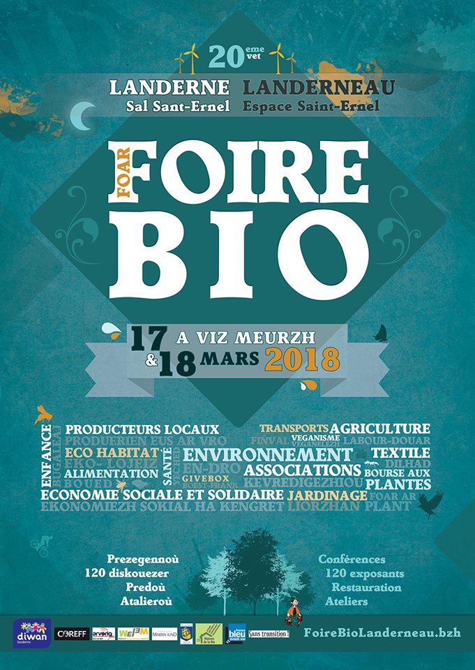 Foire bio Landerneau 2018