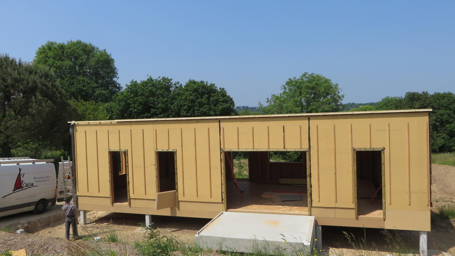 maison bois loperhet Hp1