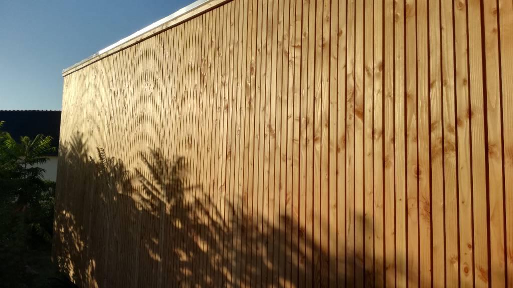 Bardage faux claire voie- scop Acacia