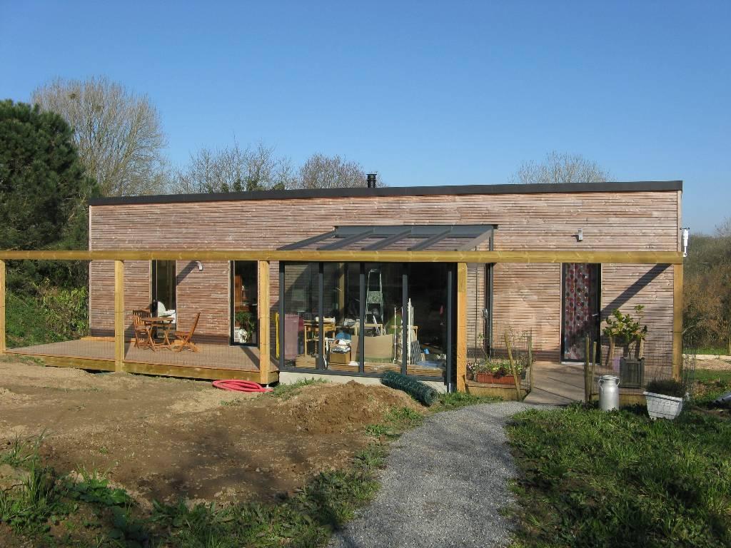 maison ossature bois loperhet - Acacia