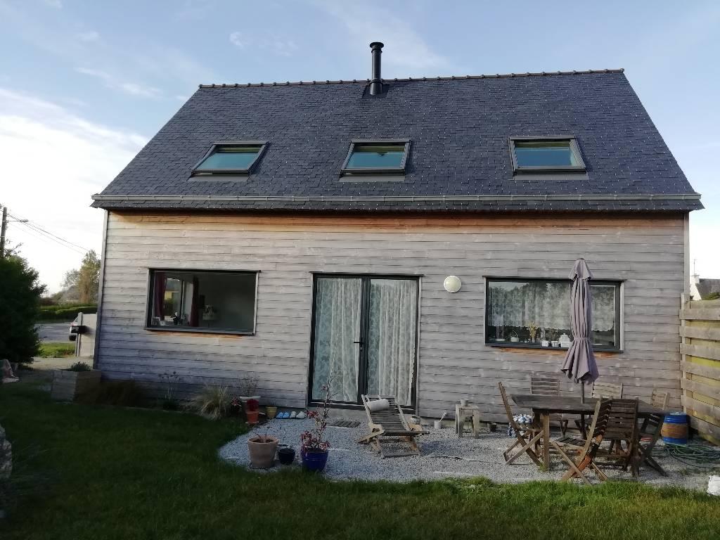 maison ossature bois Landunvez