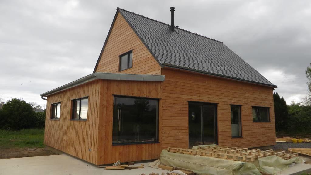 Maison bois Landeda