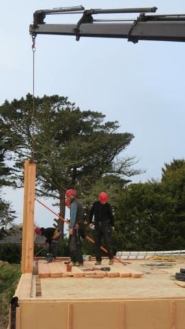 Levage maison bois - Scop Acacia