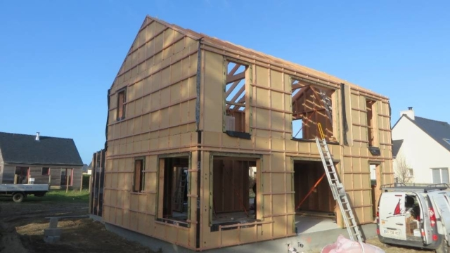 Maison ossature bois - Acacia