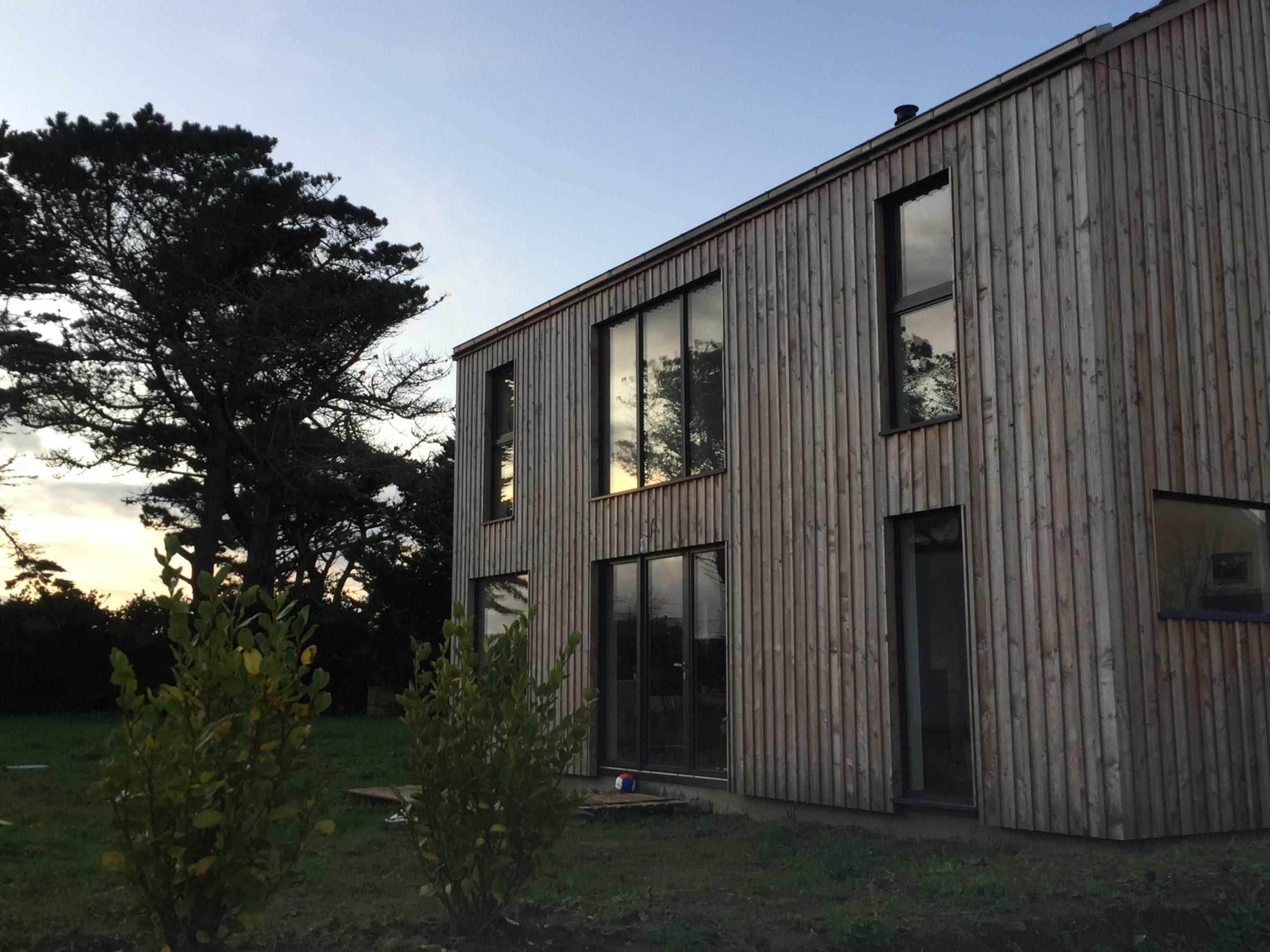 maison bois Portsall - L'acacia