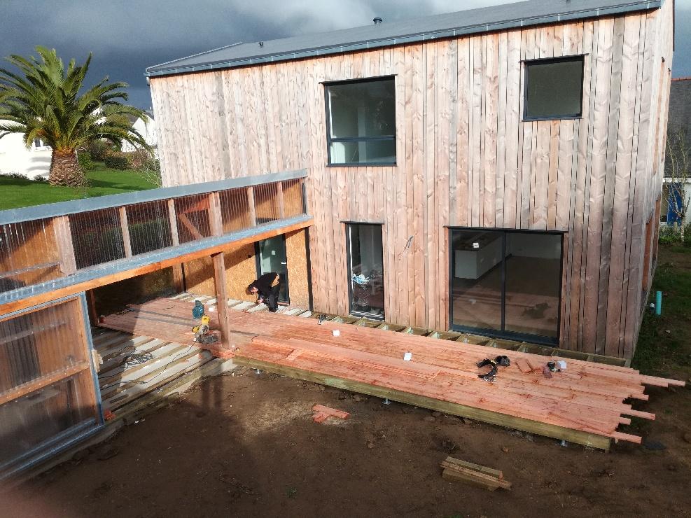 Terrasse douglas scop l'acacia