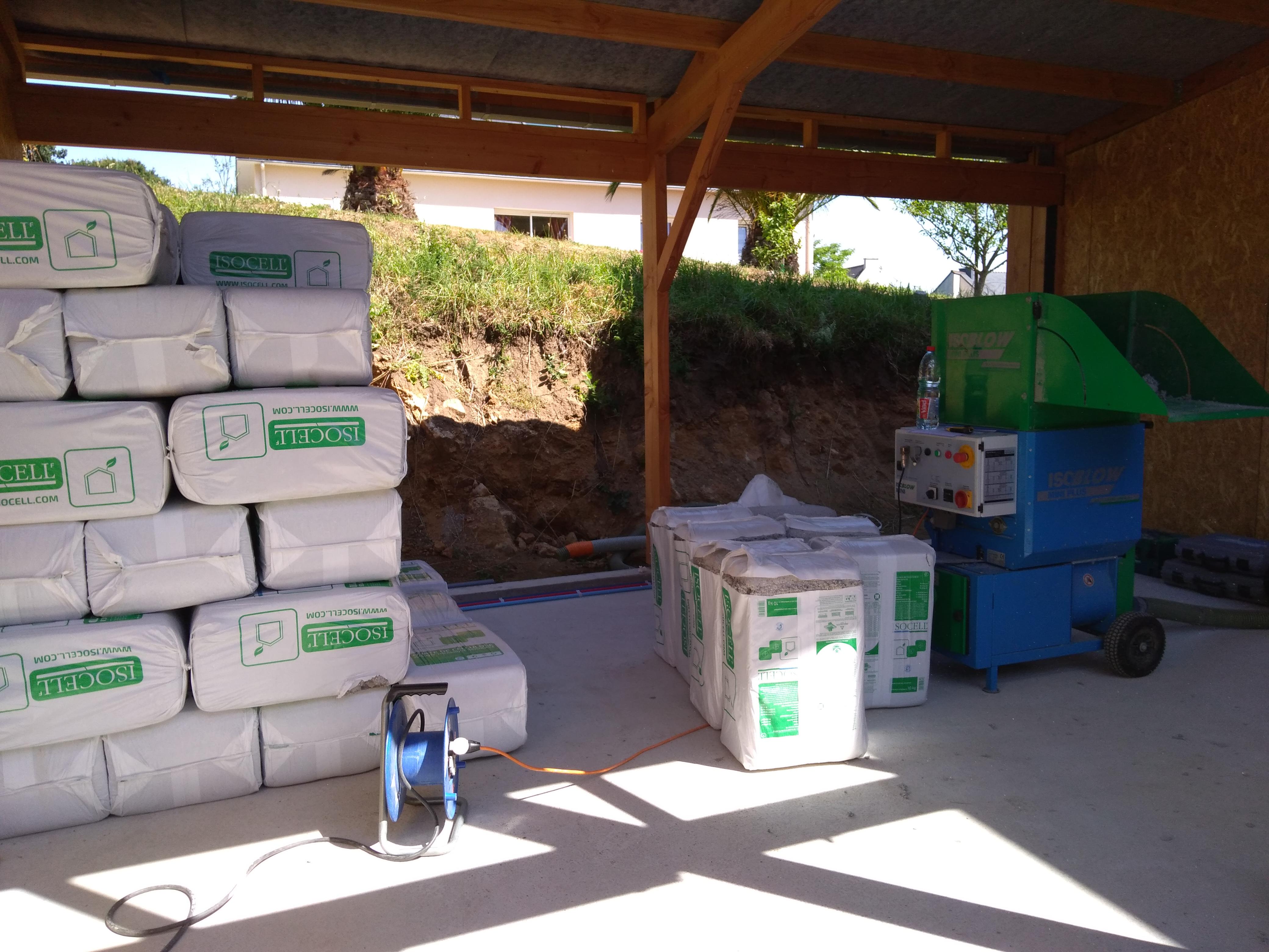 isolation ouate de cellulose - scop l'Acacia