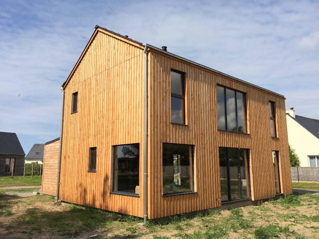 Maison ossature bois douglas
