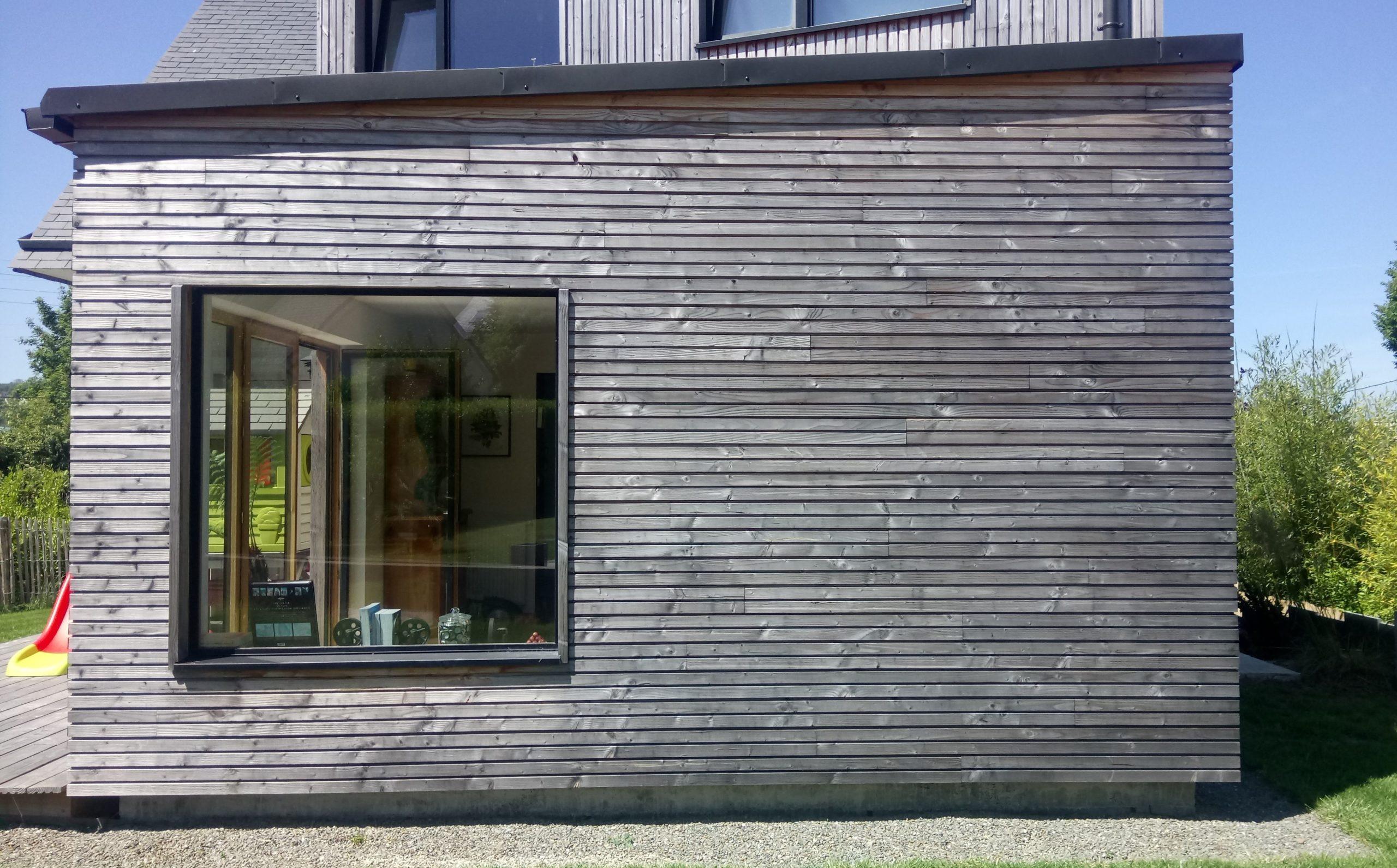 extension ossature bois landerneau -scop l'Acacia