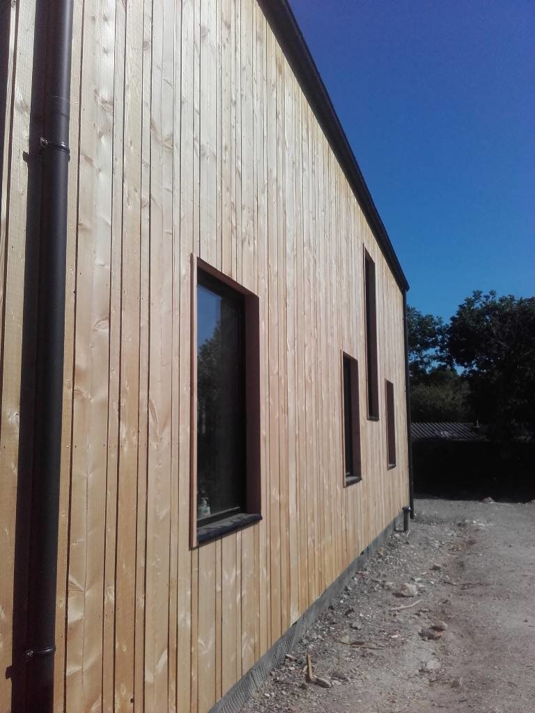 maison ossature bois contemporaine bohars