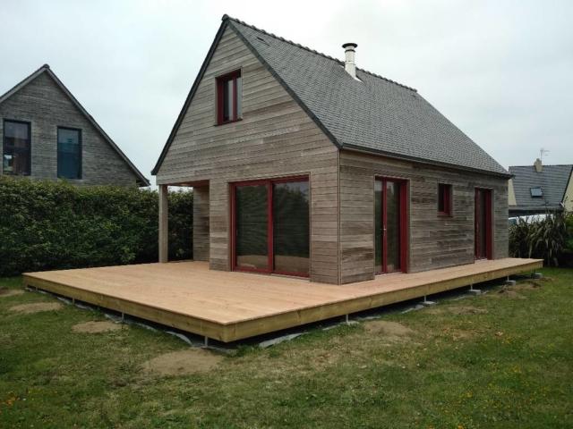 Terrasse en bois douglas - SCOP L'Acacia
