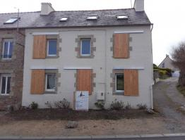 Volets coulissants bois Finistère Plouguerneau