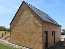 Maison bois Finistère Landunvez