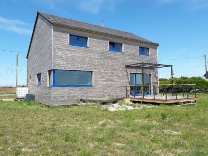 Maison passive bois Plouider
