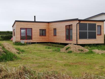 Maison modulaire ossature bois – Landeda
