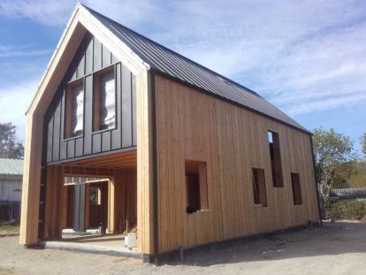 Maison ossature bois contemporaine – Bohars
