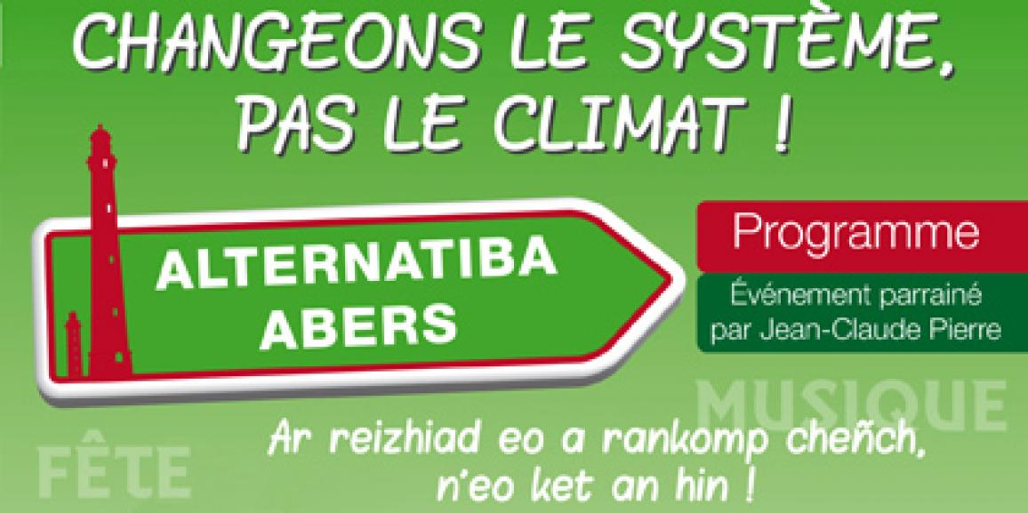 Alternatiba Abers 5 6 7 Juin Lannilis