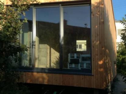 Extension sur dalle bois – Brest