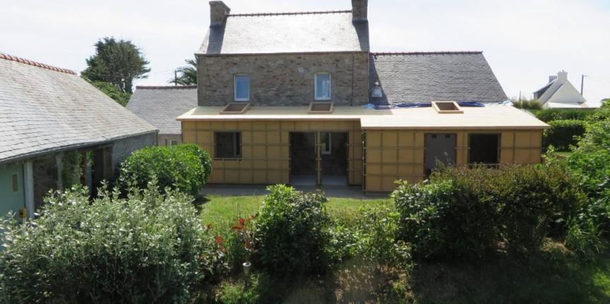 Extension bois for Extension maison hors d eau hors d air