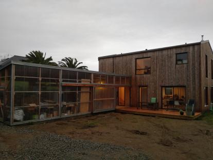 Maison ossature bois avec jardin d'hiver Plougonvelin