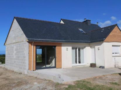 Extension bois St Pabu Finistère
