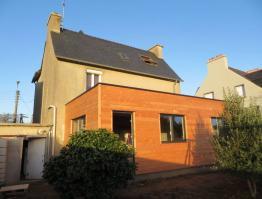 Extension bois Finistère Lannilis