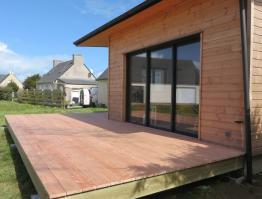 Terrasse bois en pin Douglas Landéda