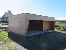 Carport bois Finistère Landéda
