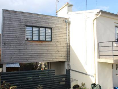 Extension et Terrasse bois sur pilotis – Guipavas