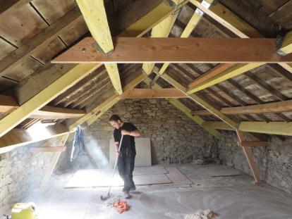 Rénovation charpente Plouguerneau