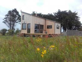 Petite maison ossature bois – Saint Pabu