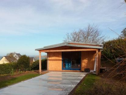 Module jardin ossature bois – Landeda