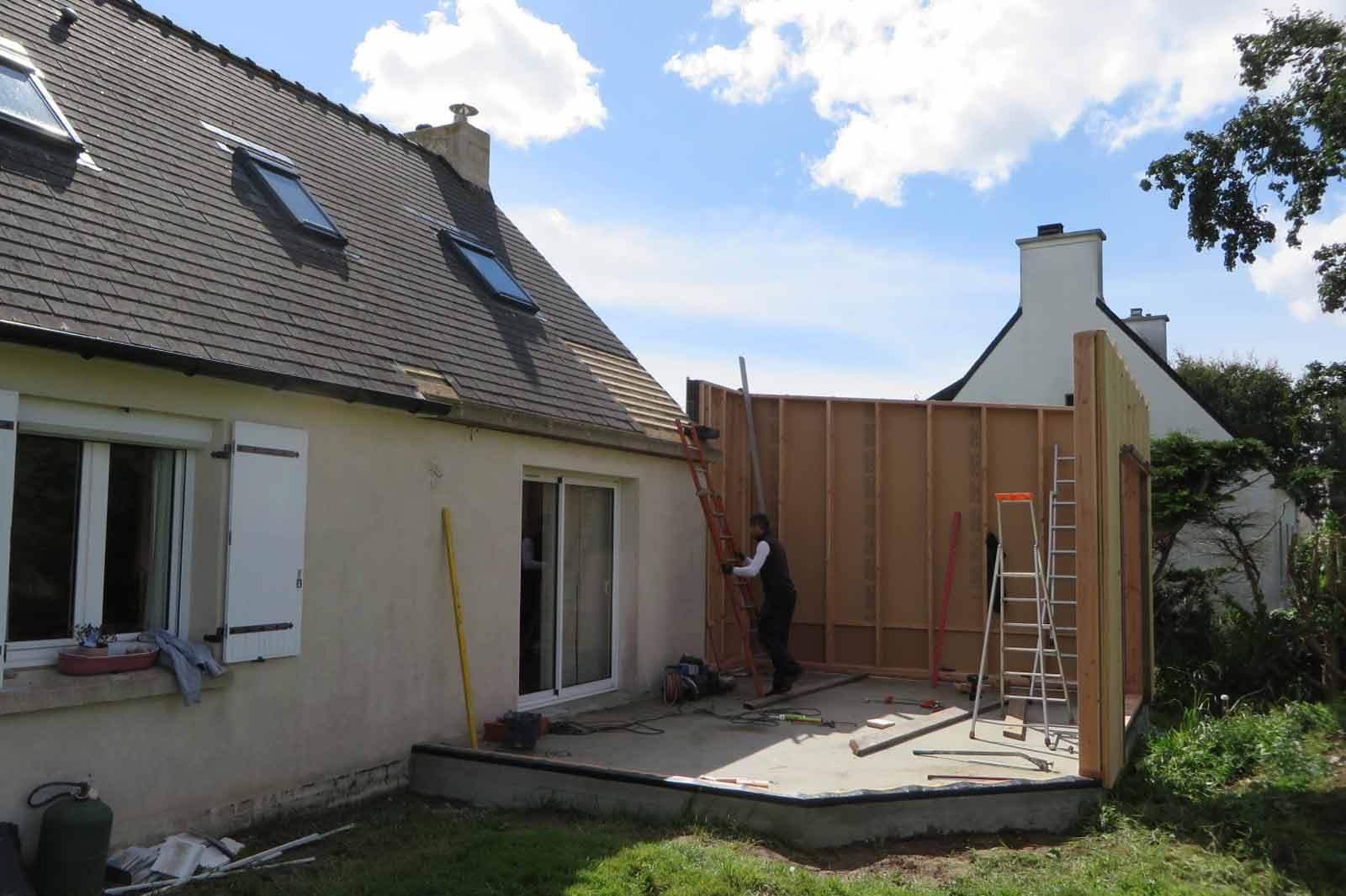 extension bois finistere landeda maisons bois acacia. Black Bedroom Furniture Sets. Home Design Ideas