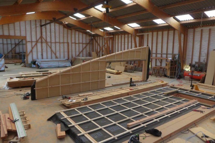 Fabrication maison ossature bois atelier ventana blog for Fabricant maison ossature bois