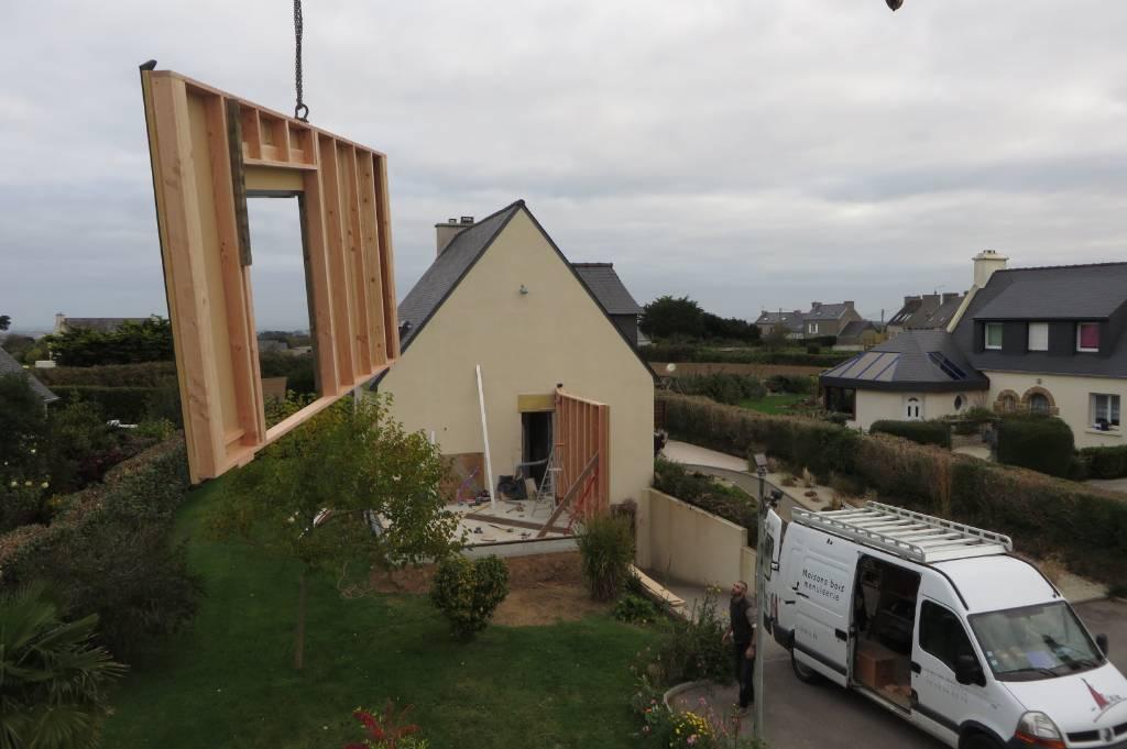 Levage extension bois